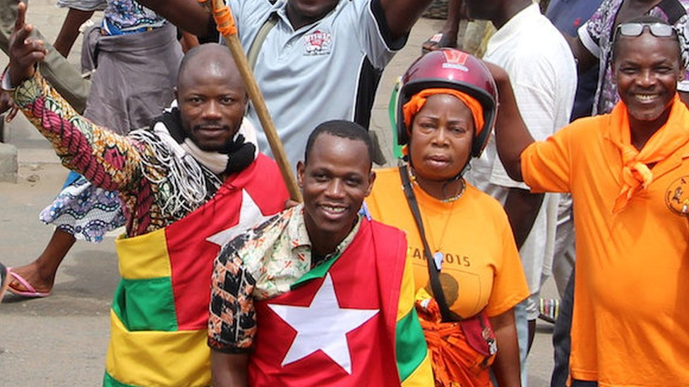 Togo protesters